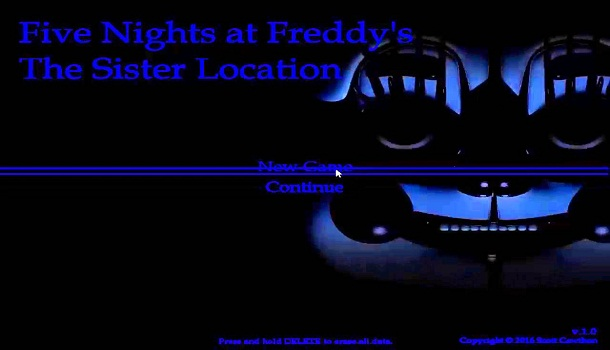 Five Nightstar at Freddy's Sister Location Fanmade