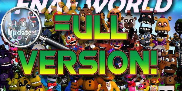 Fnaf World Full Version