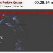 Five Nights at Freddy's Quizzes