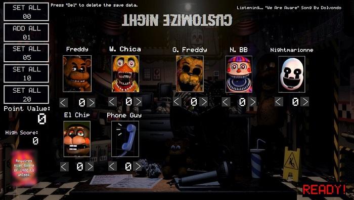 Ultimate Custom Night Fan Game