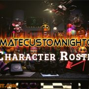 Ultimate Custom Night Character Roster