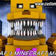 Five Nights At Freddy's 3 Minecraft Map