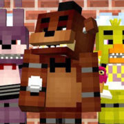 Five Nights At Freddy's Minecraft with 3D Models Map